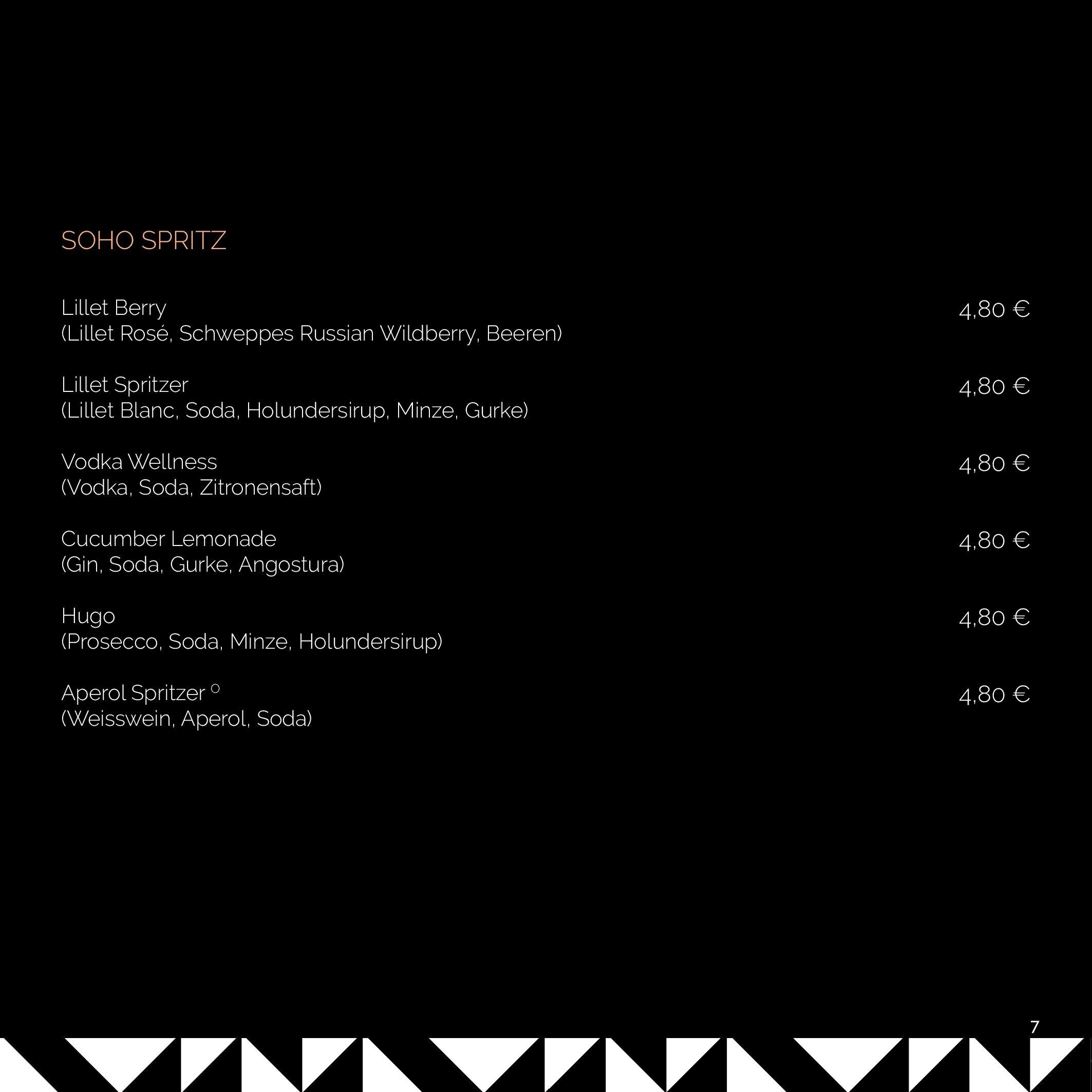 SOHO MENU 2020 BLACK KARE page 007