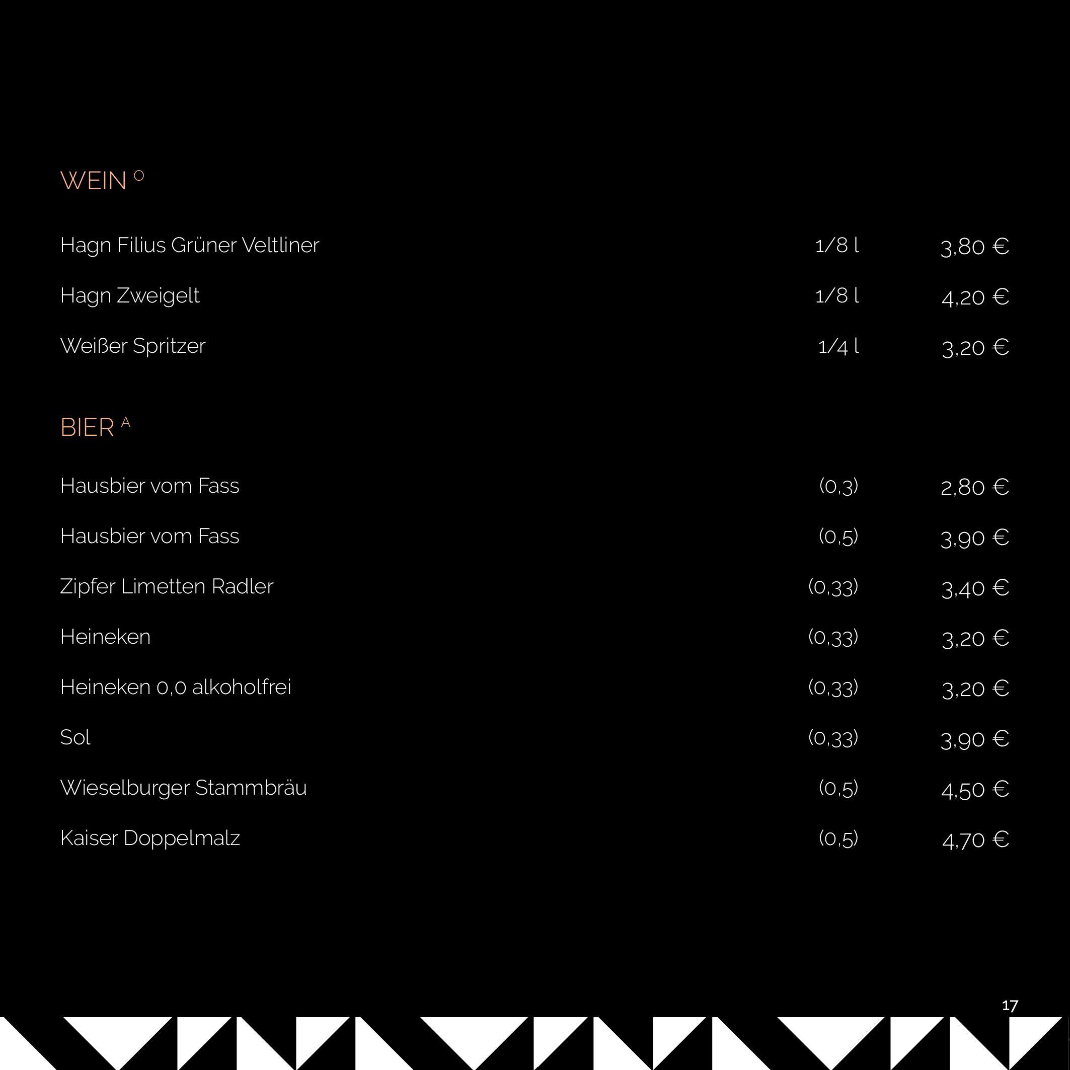 SOHO MENU 2020 BLACK KARE page 017