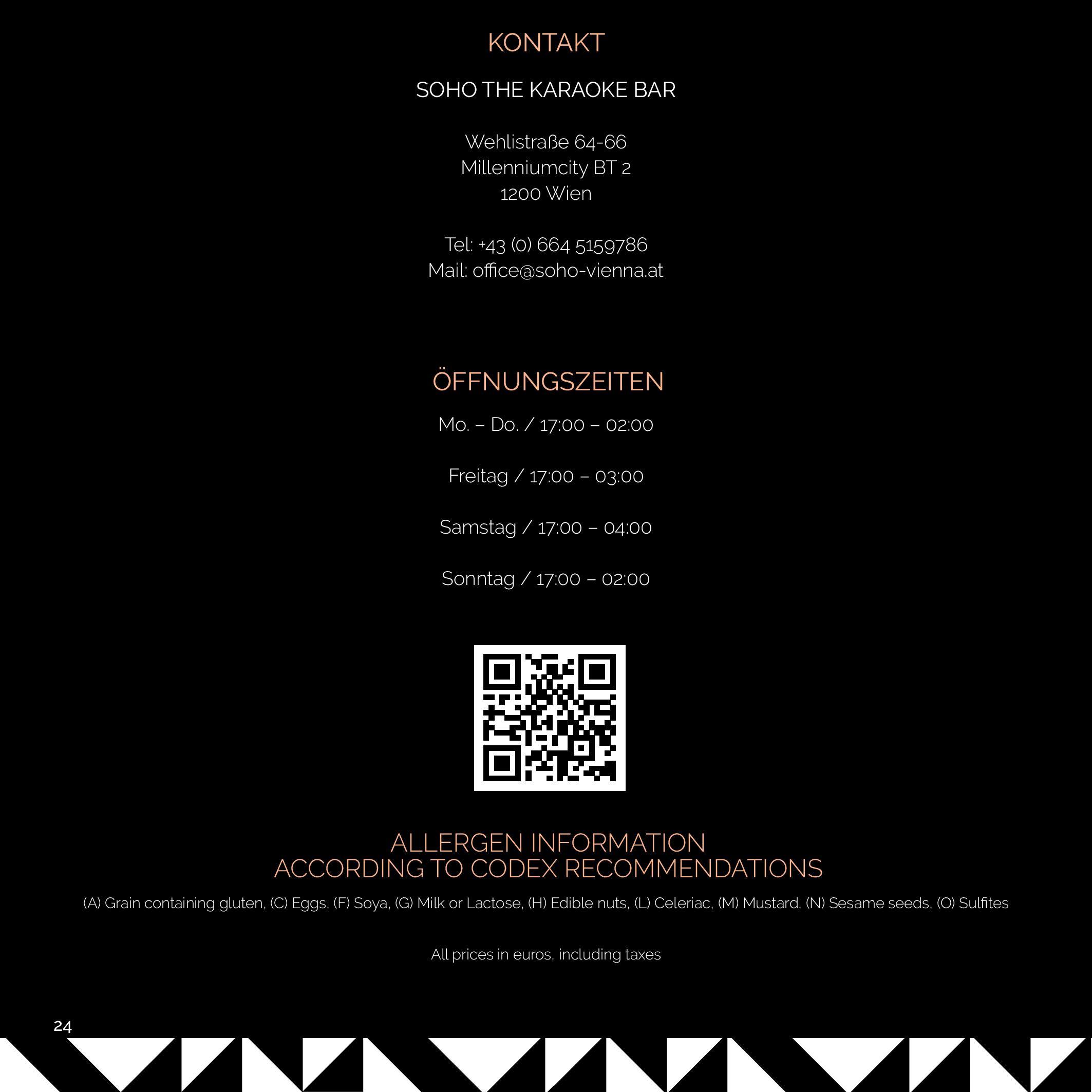 SOHO MENU 2020 BLACK KARE page 024